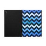 Modelo azul de Chevron iPad Mini Carcasas