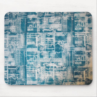 Modelo azul de Derby Tapetes De Raton