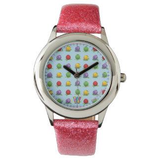 Modelo azul de la baya relojes de pulsera
