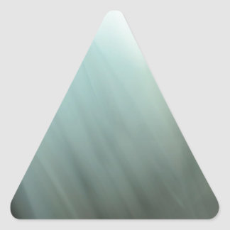 Modelo azul de la falta de definición de movimient calcomania triangulo personalizadas