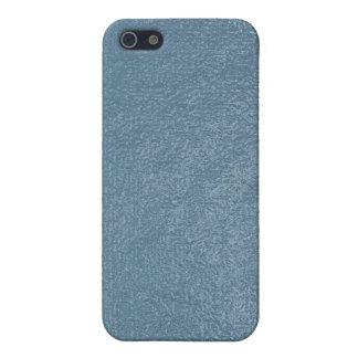 Modelo azul de la mirada de la piedra arenisca iPhone 5 carcasas