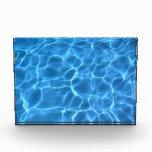 Modelo azul de la piscina