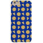 Modelo azul de la pizza funda de iPhone 6 plus barely there