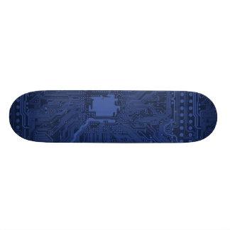 """Modelo azul de la placa madre del friki patineta 8 1/2"""""""