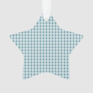 Modelo azul de la tela escocesa del control de la