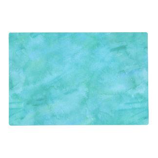 Modelo azul de la textura de la acuarela del tapete individual