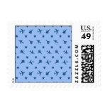 Modelo azul de los aviones sellos