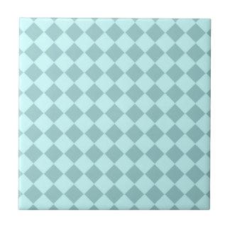 Modelo azul de los cuadrados tejas  cerámicas