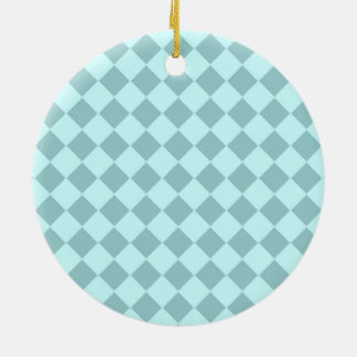 Modelo azul de los cuadrados adornos