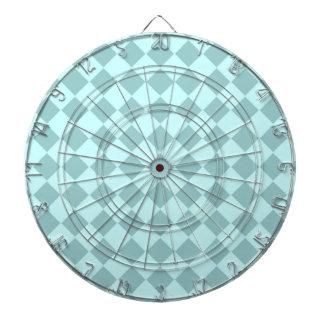 Modelo azul de los cuadrados tablero dardos