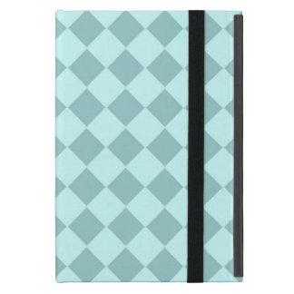Modelo azul de los cuadrados iPad mini cárcasa