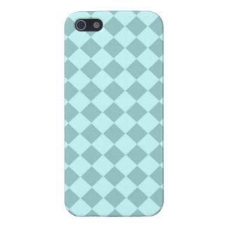 Modelo azul de los cuadrados iPhone 5 cobertura