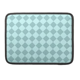 Modelo azul de los cuadrados fundas para macbooks