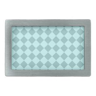 Modelo azul de los cuadrados hebillas cinturon