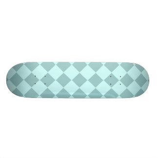 Modelo azul de los cuadrados tablas de patinar
