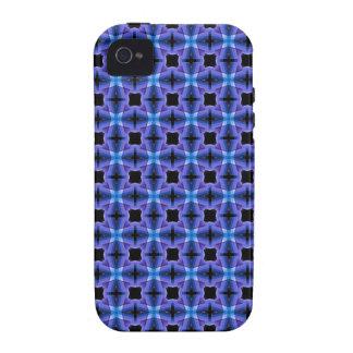 Modelo azul de los inspectores Case-Mate iPhone 4 fundas