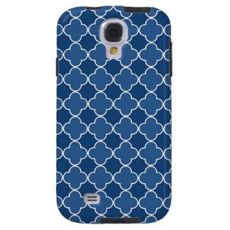 Modelo azul de Samsung Quatrefoil