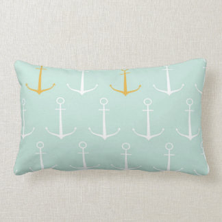 Modelo azul del ancla de la primavera de muy buen  almohada