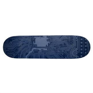 Modelo azul del circuito de la placa madre del patin personalizado