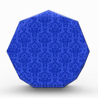 Modelo azul del damasco