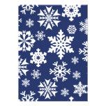 Modelo azul del día de fiesta del navidad del invi