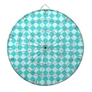 Modelo azul del diamante de la combinación tablero dardos