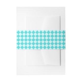 Modelo azul del diamante de la combinación decoración para invitaciones