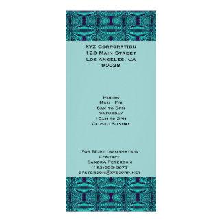 Modelo azul del extracto del alambre del trullo lonas publicitarias