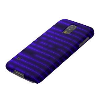 Modelo azul del laser de Demonolatry Carcasas Para Galaxy S5
