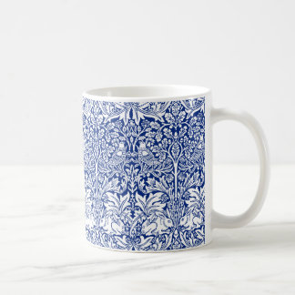Modelo azul del vintage del conejo de William Taza De Café