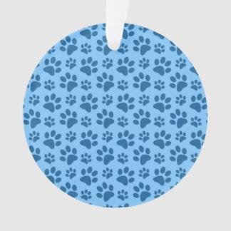 Modelo azul en colores pastel de la impresión de