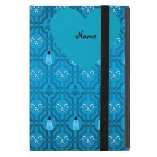 Modelo azul extranjero conocido de encargo del iPad mini cobertura