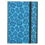 Modelo azul femenino del leopardo