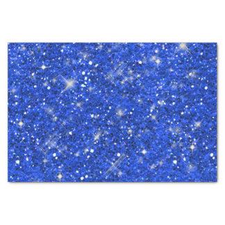 Modelo azul ID144 del brillo Papel De Seda Pequeño