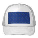 Modelo azul lindo del reno gorras de camionero