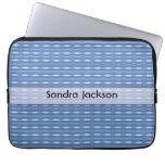 Modelo azul lindo personalizado manga portátil