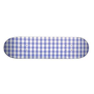 Modelo azul marino de la guinga tablas de patinar