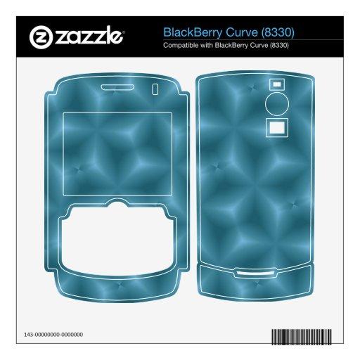 Modelo azul moderno skins para BlackBerry