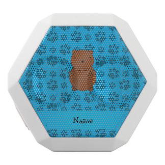 Modelo azul personalizado de la pata del oso