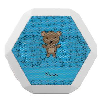 Modelo azul personalizado de las anclas del oso