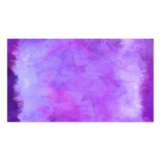 Modelo azul púrpura violeta de la textura de la tarjetas de visita