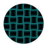 Modelo Azul-Resumido de la casilla negra Fichas De Póquer