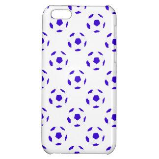 Modelo azul y blanco del balón de fútbol