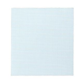 Modelo azul y blanco del control de la guinga libreta para notas