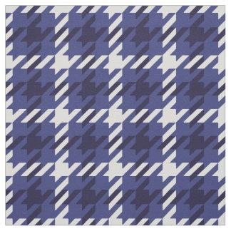 Modelo azul y blanco retro de la tela escocesa del telas