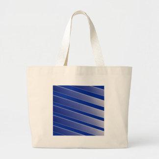 Modelo azul y gris bolsa