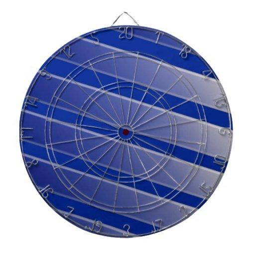 Modelo azul y gris tabla dardos