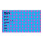 Modelo azul y rosado del árbol de navidad plantillas de tarjetas personales