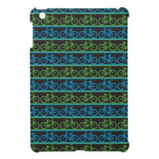 Modelo azul y verde de la bicicleta de la bici