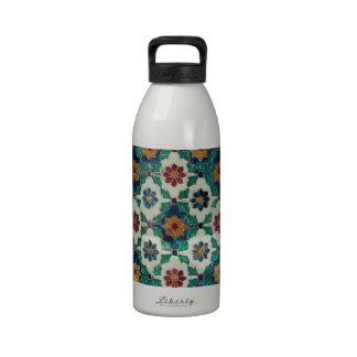 Modelo azul y verde de la India Botella De Agua Reutilizable